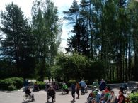 Подробнее: Соревнования на колясках